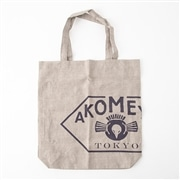 AKOMEYA linen100% bag (made in Japan) BExNV トートバッグ