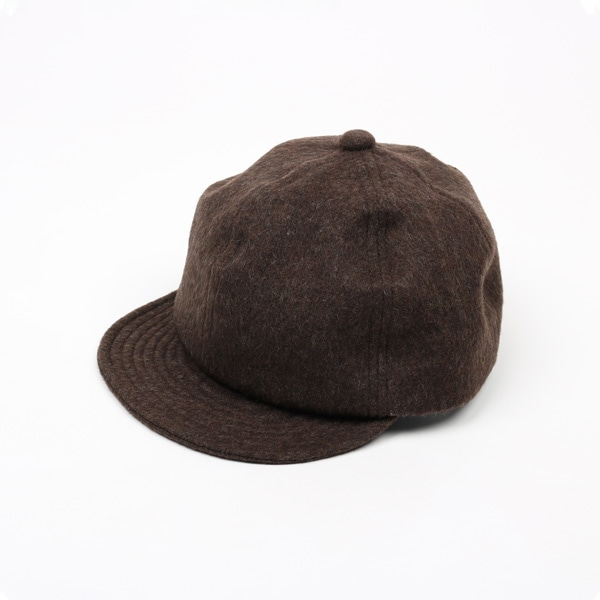 Nine Tailor Shaggy Cap ブラウン