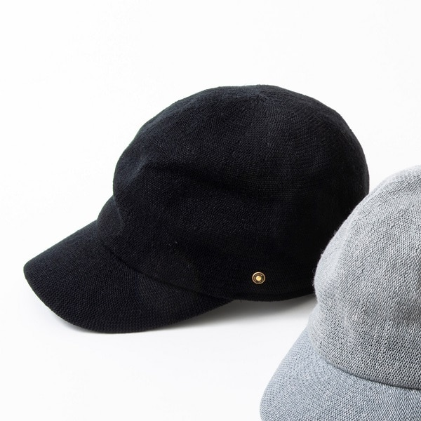 Nine tailor Lande Cap ブラック