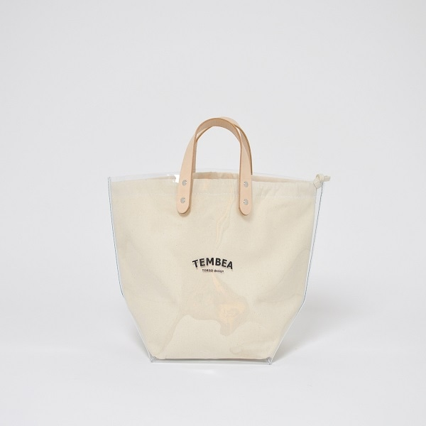 TEMBEA DELIVERY TOTE MEDIUM PVC クリア
