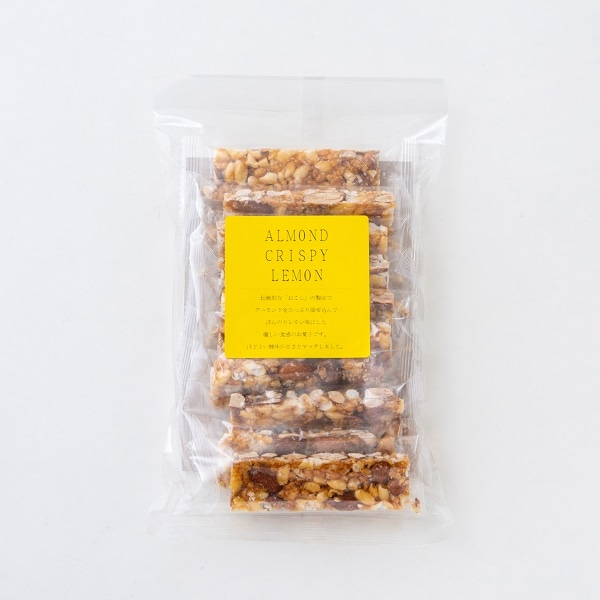 篠原製菓 ALMOND CRISPY LEMON